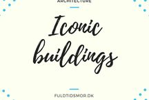 Architecture: Iconic buildings / A board filled with the best architecture in the world. Greatest building drawn by the greatest architects.