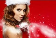 Merry Sexy Christmas / Ideas for boudoir session outfits for #Christmas #Holidays #Boudoir #Gifts