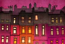 Cityscape / by Amy Jarnagin Fisher