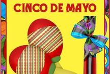 Cinco de Mayo Recipes, Crafts, Education / Everything Cinco de Mayo - Fiesta, Mexico fun crafts and recipes for kids and families!