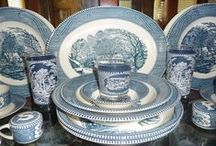 collect me: currier & ives dishes (Royal USA)