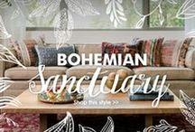 TREND | Bohemian Sanctuary / Unleash your artistic vibes.