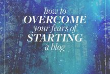 Business | Blogging for creatives / Clever ideas to start and keep your creative blog humming
