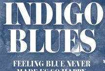 HUE | Indigo Blues / We've got the blues - ALL the blues.