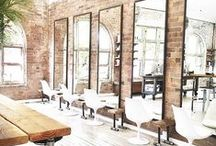 INSPIRATION | Salon Style / Calling all Stylists! We are drooling over these gorgeous salon setups!