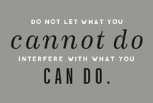 wisdom + motivation / by Cara