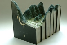 Art made from carved books