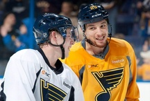 St.Louis Blues Hockey / by Christina Vaughn
