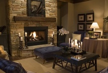 Fireplace / by Cheryl Riker