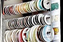 Crafts - Organization, Storage, & Tools / Crafting / by Cheryl Key