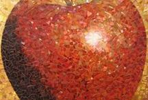gotta love glass! - mosaics / by Kathy Otto Loftus