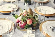 Tablescapes / Beautiful table settings and dinnerware for everyday dining and elegant entertaining