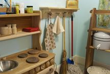 Little Spaces for Little People / Play rooms and shared rooms / by Danielle Jeanne