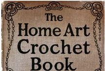 Crochet Pattern Books / by Cheryl Riker