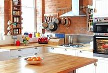 Eclectic Kitchens / The fusion of many designs in one kitchen. / by Kitchen Magic