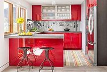Colorful Kitchens / Palettes & Colorful Kitchens