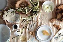 gatherings. / tables. dining. festivities.