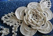 Crochet Flowers / by Cheryl Riker