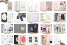 layout design. / page & layout design.  type. colour. image. weighting.
