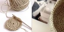 Knit and Crochet / Tutorials and inspiration for yarn crafts including knitting, loom kntting and crochet.