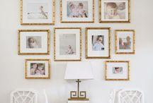 Wall Displays / gallery walls and artful arrangements