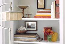 Shelves / Bookshelf styling. / by René Zieg