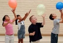 Get the Kids Moving! / Gross Motor Activities to get the kids, preschoolers and toddlers moving! / by Jamie Reimer