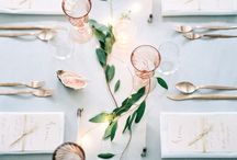 Table / pretty tablescapes that inspire / by René Zieg