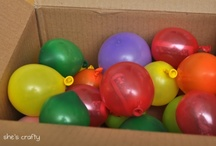 Blowing Balloons / Balloons! So much fun to be had with balloons! / by Jamie Reimer
