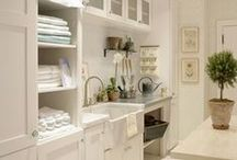 Laundry Rooms / by René Zieg | Cottage and Vine