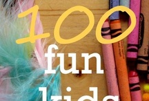 Kids - quick activities / things to keep little ones entertained / by Liz Hinkley