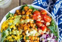 Because Salads Should Not Be Boring / Every kind of salad. Follow these bloggers' leads to create amazing salads!