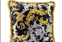 The New Cushions / Discover the new Versace Home Collection at shop.versace.com/home-collection / by Official Versace
