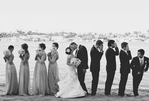 The Entourage and the Photo Ops / The bridesmaids, groomsmen, their outfits, their gifts, and the pictures of memories that will last a lifetime. / by Adina Disney