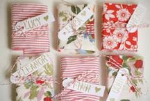 gift wrap and tags for all occasions / Ways to make packages more fun  / by Susan Brown