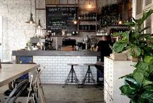 C a f e  I n t e r i o r s / Cafe Interior & Style Inspiration