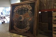 We built it / The things we build by hand at Von Dutch