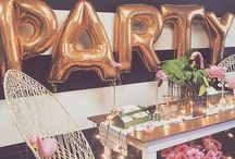 P a r t y / Dinner Parties, Birthday Parties, Table Settings, Styling and Ideas