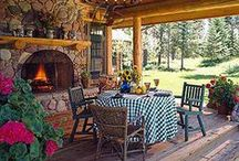 Dream Vacation Home / ~ Rustic Chalets, Log Cabins and Lodges ~