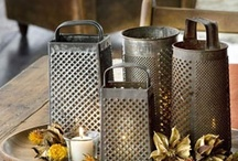 Galvanized Metal / Photos of galvanized metal, funnels, buckets, gates and industrial metal/ideas and what I like to collect
