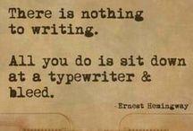 Read, Write, Repeat / novel writing, blog writing, song writing, web writing, writing, writing, writing...I love to write!