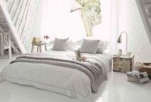 Bedroom Inspiration / Beautiful bedrooms as inspiration. www.dormeo.co.uk #MemoryFoam