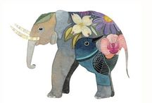 elefantes / by Sandra Luz