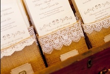Lace weddings / Lace adds a soft feminine touch to your wedding and is perfect for creating a delicate vintage feel.