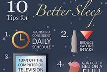 Sleep Tips / You'd think getting a good night's sleep was easy... think again.