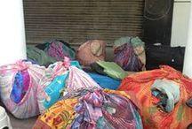 India / Indian textiles, Pictures of trips in Delhi, favorite artisan shops around Delhi