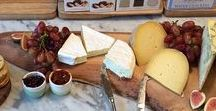 Cheese boards / Inspiration for how to arrange your cheese boards.
