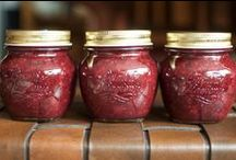 Food in Jars / Recipes from my site and others for jams, pickles, chutneys, and other foods that are preserved or featured in jars.