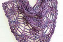 ╜ Crochet Scarves, Cowls, Shawls ╙ / by K@ AuroraBlythe