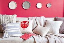 DeColores / Cómo combinar colores en la decoración del hogar. / by Micasa Decoración